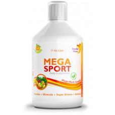 """""""Мега Спорт"""" - витамини + минерали + аминокиселини + зелена смес"""
