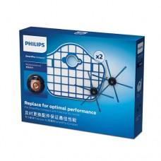 Philips Комплект SmartPro Compact аксесоари за подмяна 2 сменяеми филтъра, 1 чифт четки