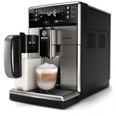 Philips автоматична еспресо машина Saeco GranBaristo 10 напитки, Вградена кана за мляко, Неръждаема стомана, AquaClean