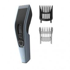 Philips Машинка за подстригване Series 3000, Ножчета от неръждаема стомана, 13 настройки за дължина, 75 мин. безжична работа/8 ч. зареждане, Вкл. гребен за брада