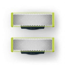 Philips OneBlade Сменяемо ножче 2бр, Приляга на всички дръжки на OneBlade
