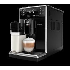 Philips автоматична еспресо машина Saeco PicoBaristo 10 напитки, Вградена първокласна кана за мляко, Предна част с цвят Piano Black, 10-степенна регулируема мелачка